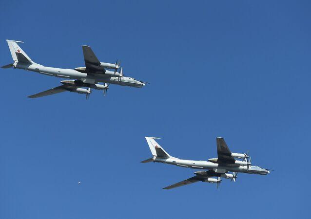 Letouny Tu-142 vojenského námořnictva RF