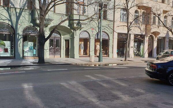 Pařížská ulice, 14. března 2020 - Sputnik Česká republika
