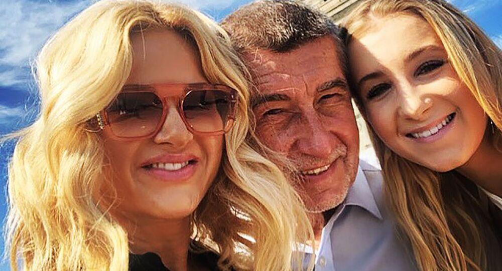Rodina Andreje Babiše