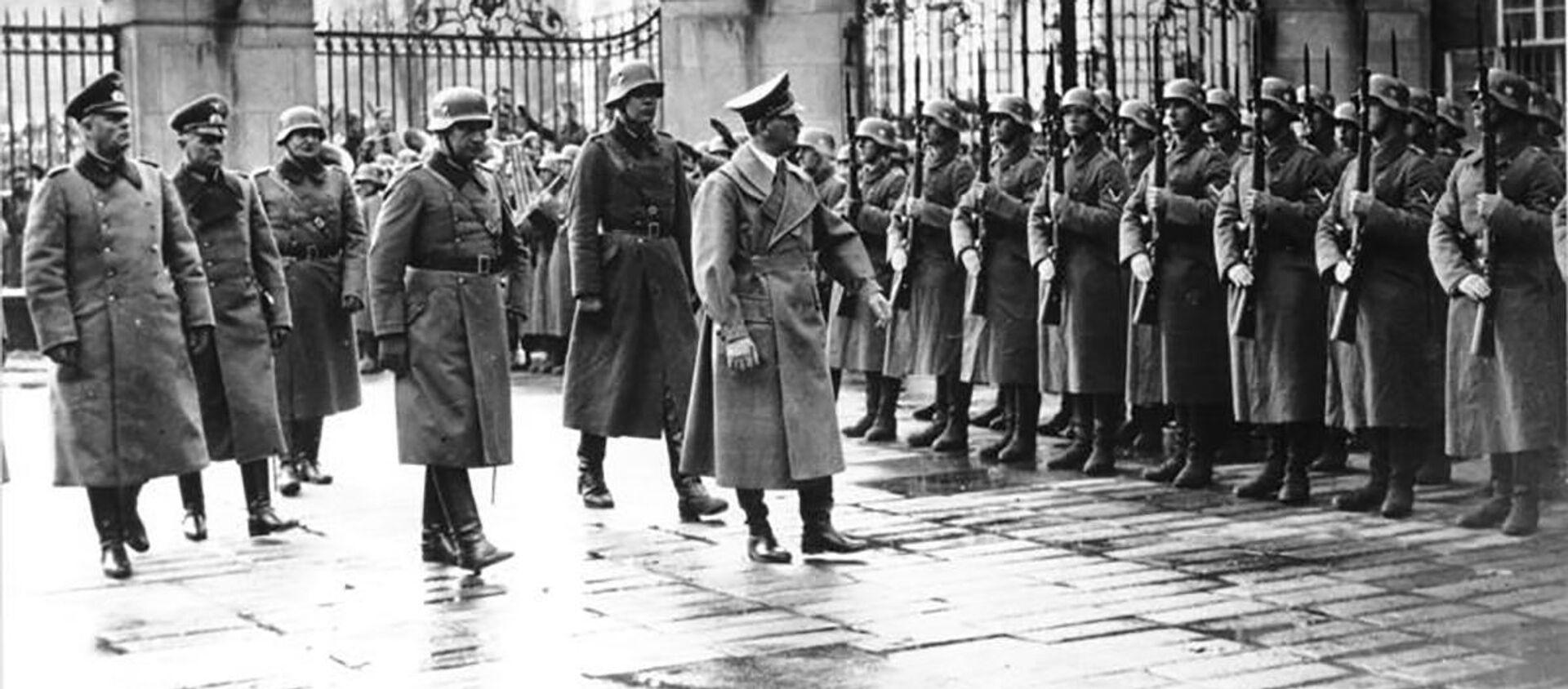 Adolf Hitler v Praze. 15.3.1939   - Sputnik Česká republika, 1920, 16.03.2021