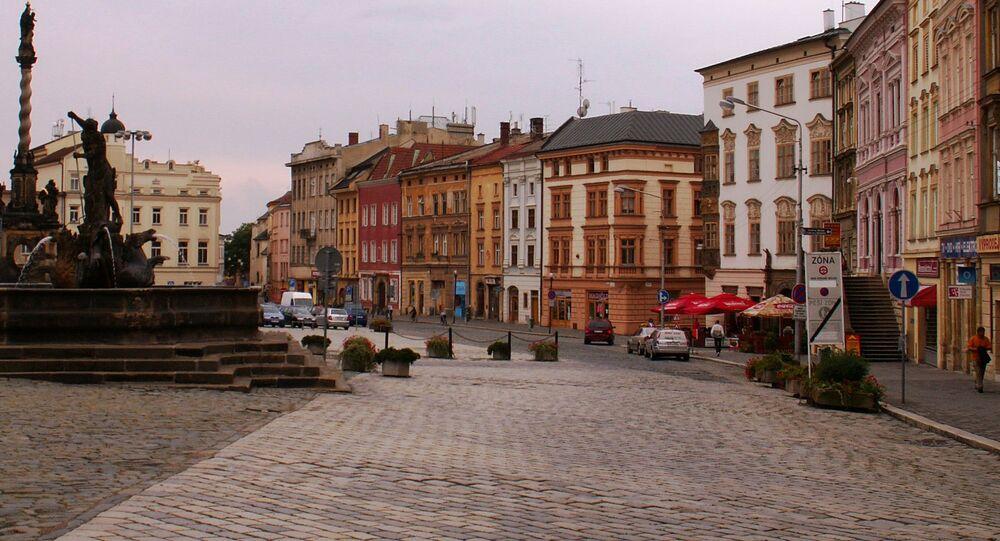Dolní náměstí, Olomouc. Ilustrační foto