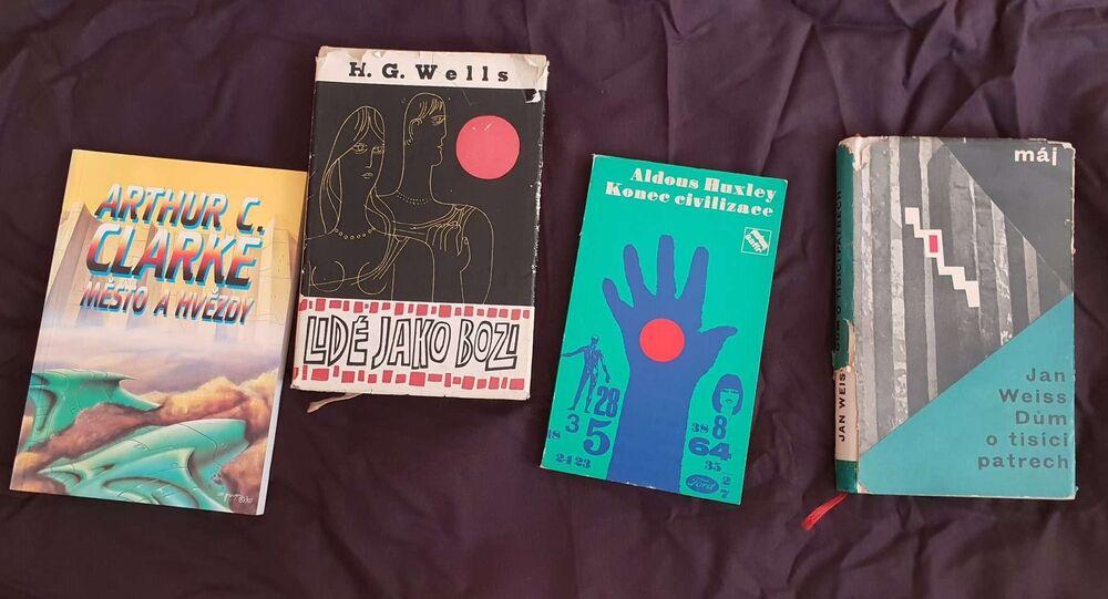 Obálky fantastických knih