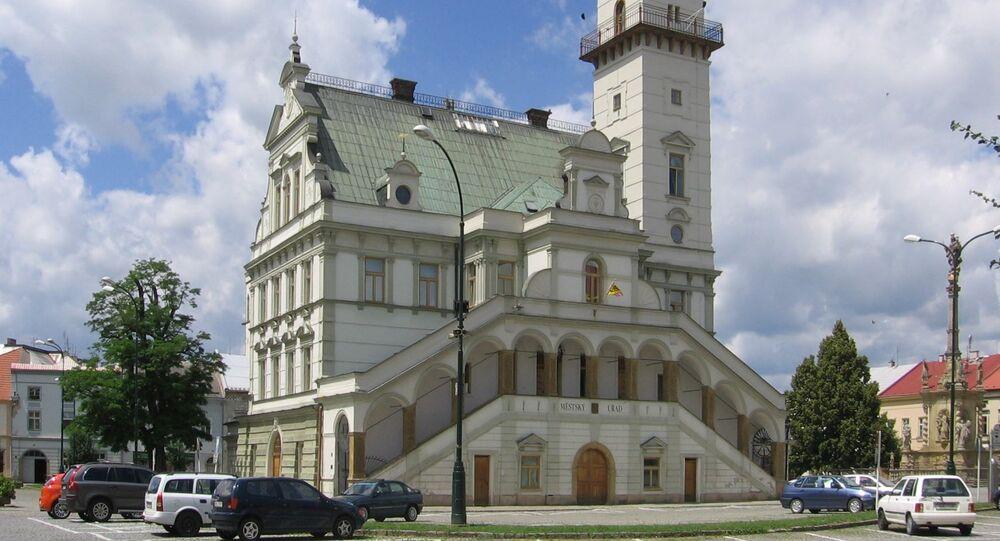 Město Uničov v Olomouckém kraji