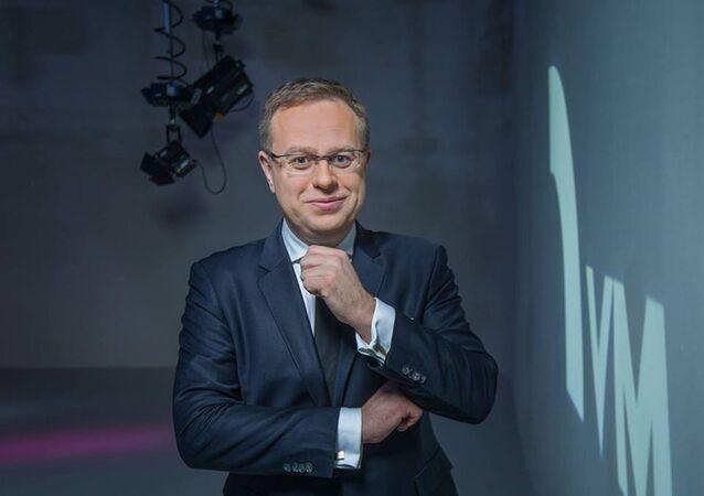 Moderátor Václav Moravec