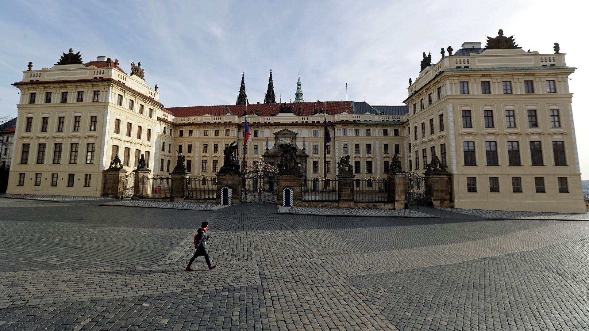 Pražský hrad uzavřený kvůli karanténě - Sputnik Česká republika, 1920, 07.04.2021