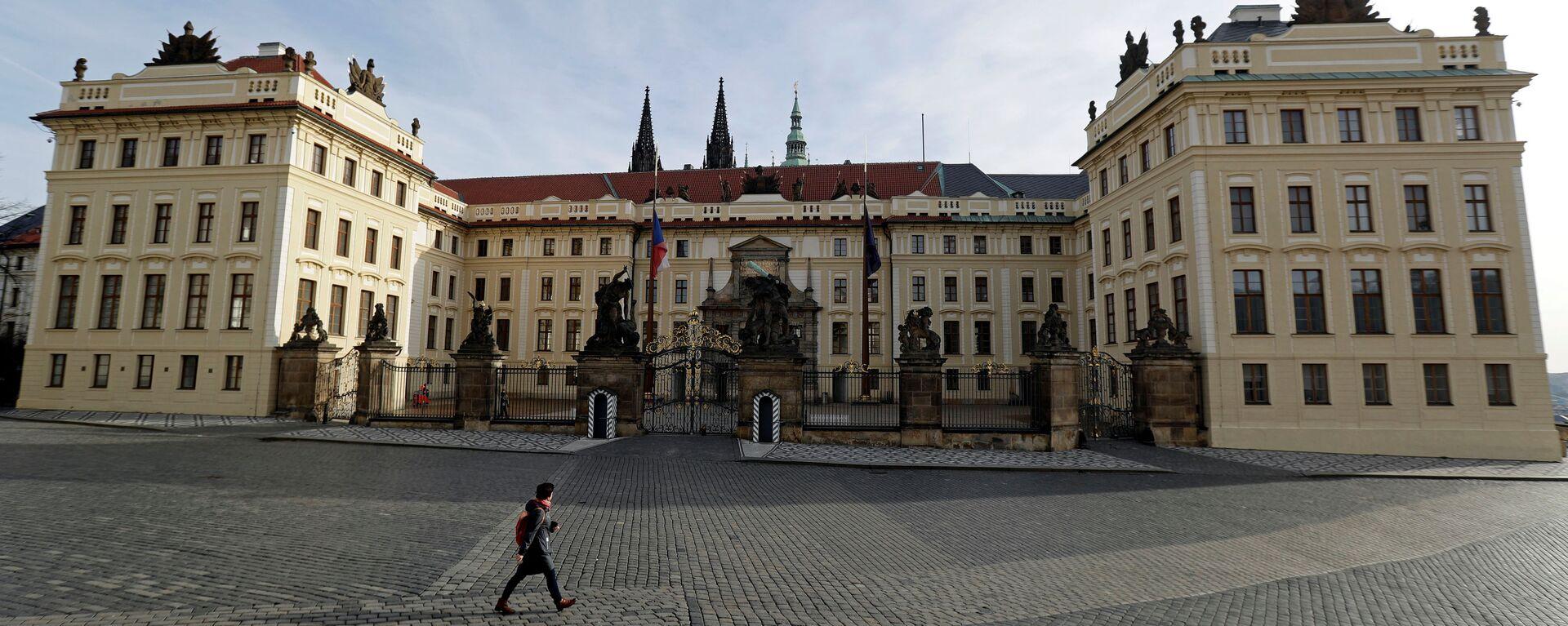 Pražský hrad uzavřený kvůli karanténě - Sputnik Česká republika, 1920, 14.11.2020