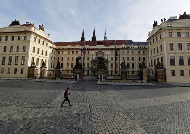 Pražský hrad uzavřený kvůli karanténě