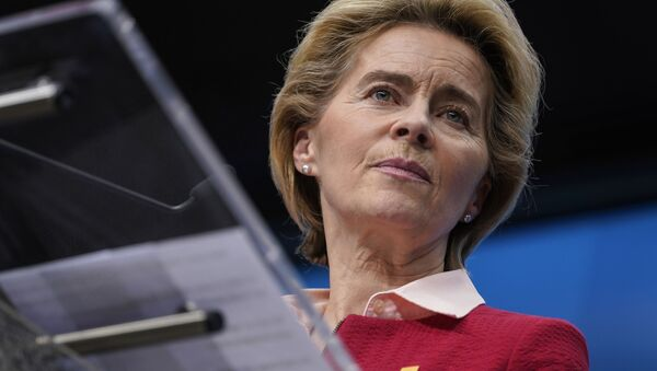 Předsedkyně Evropské komise Ursula von der Leyenová - Sputnik Česká republika