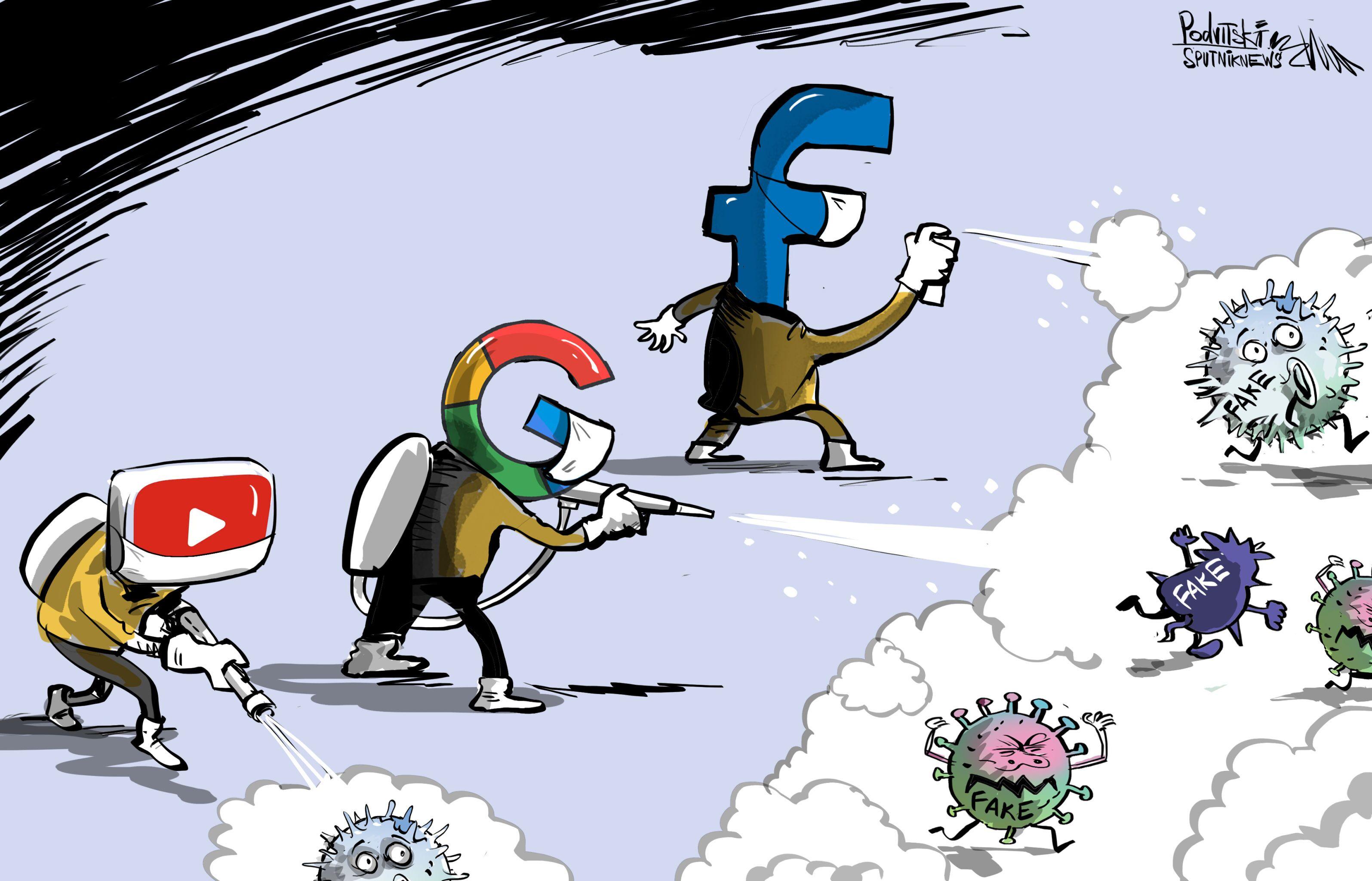 Facebook, Google a Microsoft bojují proti dezinformacím o koronaviru