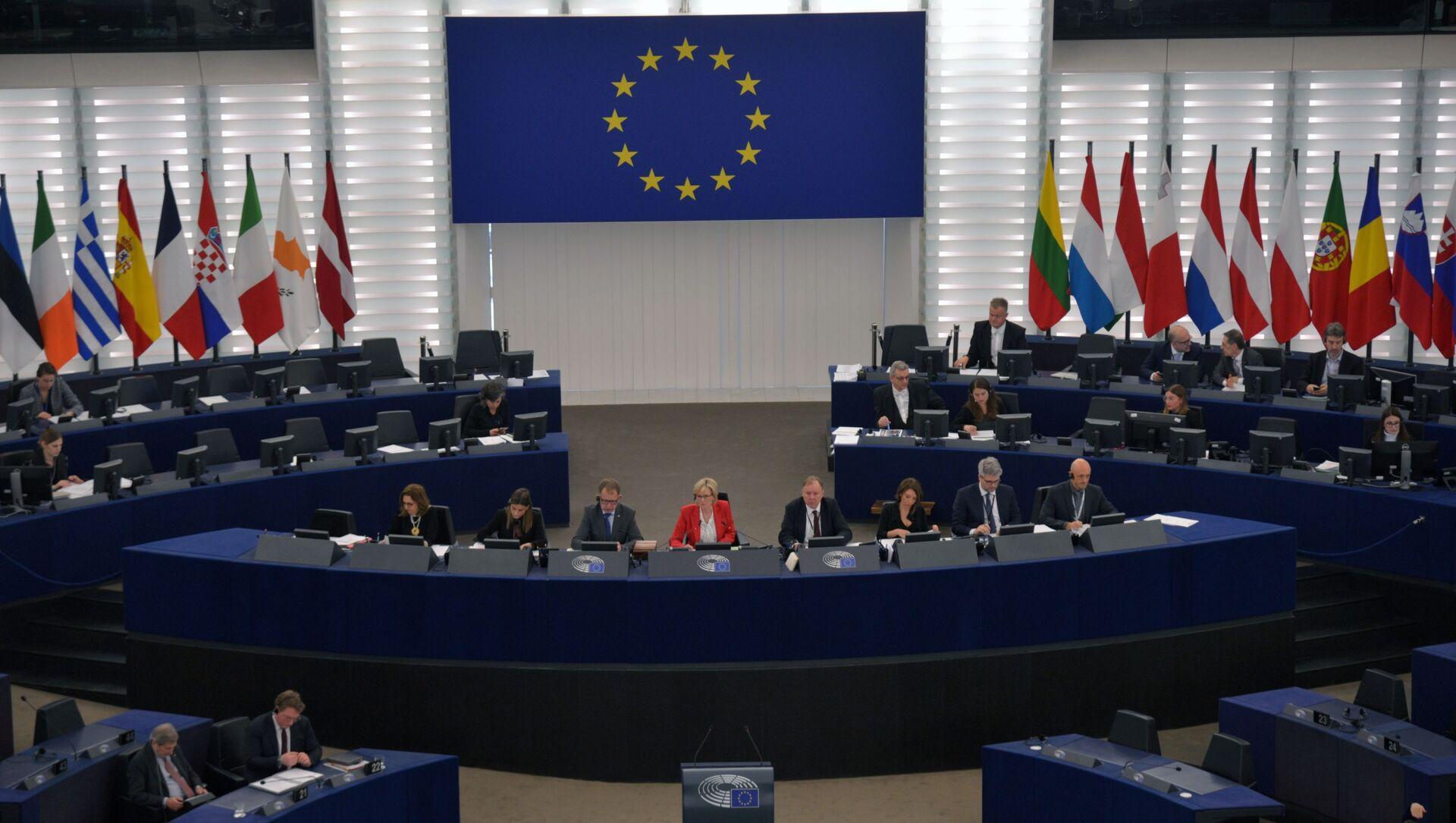 Zasedání Evropského parlamentu ve Štrasburku - Sputnik Česká republika, 1920, 11.02.2021