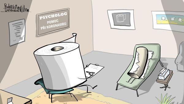 Američané volají na policii, aby jim dovezla toaletní papír - Sputnik Česká republika