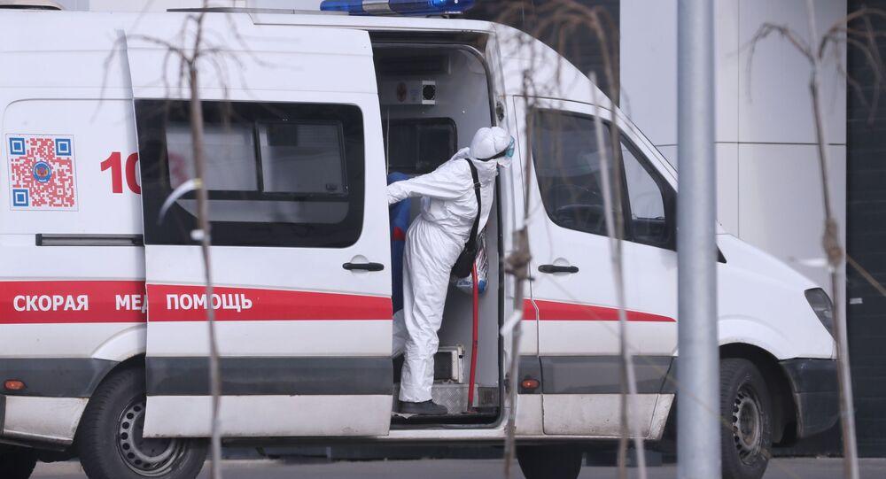 Moskevská sanitka. Ilustrační foto