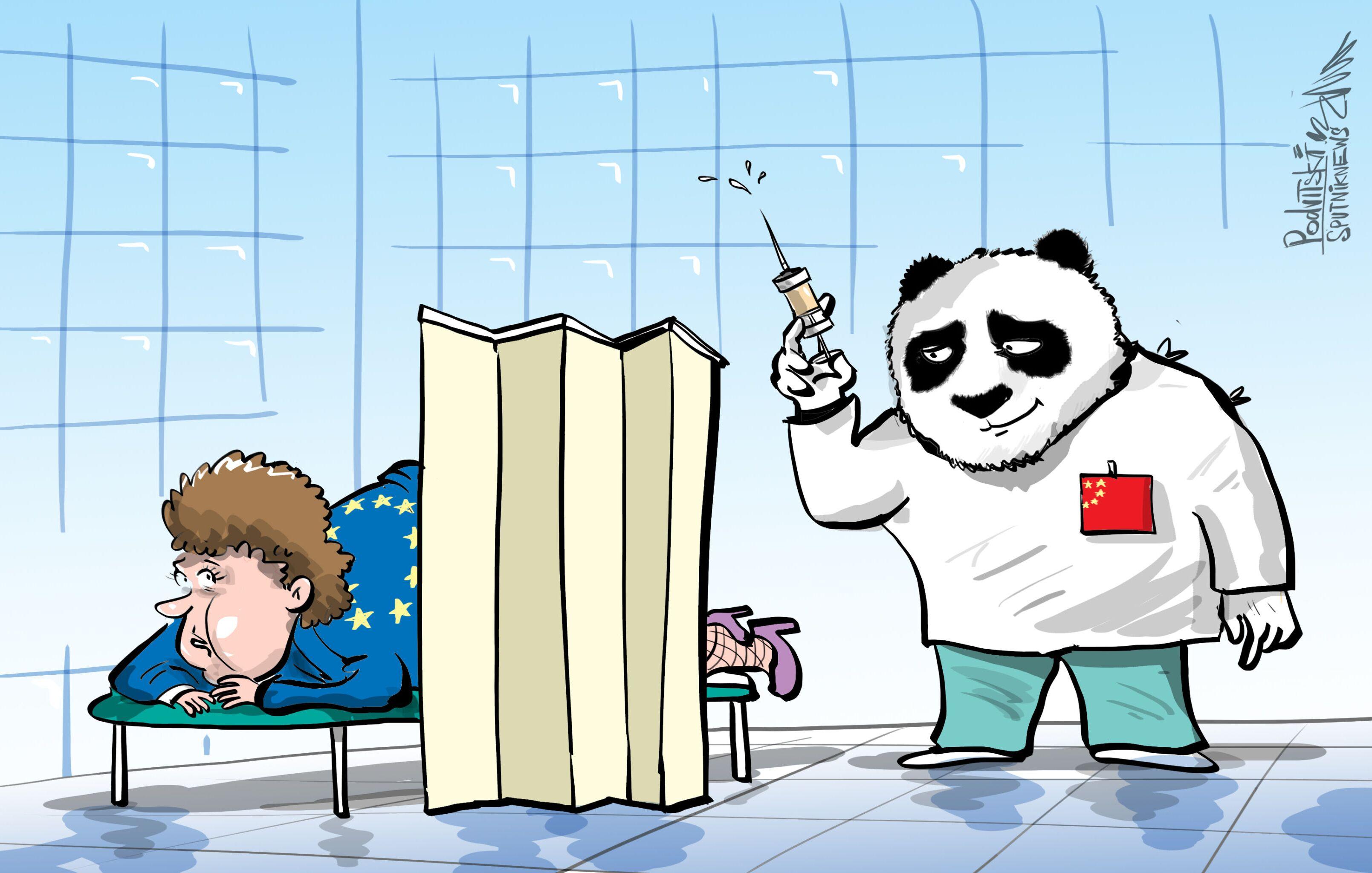 Čína jako humanitární lídr v Evropě