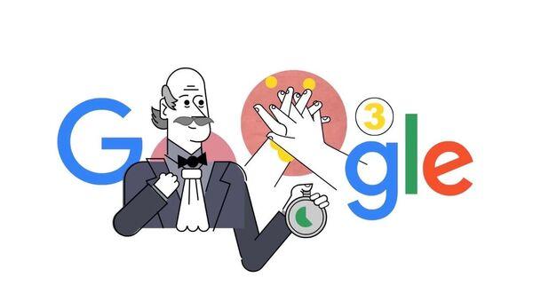 Doodle věnovaný Ignácovi Semmelweisovi - Sputnik Česká republika