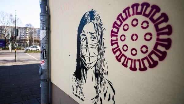 Graffiti v Berlíně - Sputnik Česká republika
