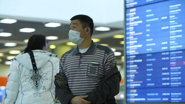 Cestující na letišti Šeremetěvo - Sputnik Česká republika
