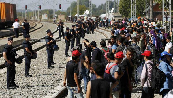Migranti v Chorvatsku - Sputnik Česká republika