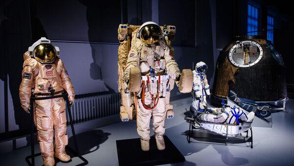 """Ruská kosmická výstava v Londýně """"Kosmonauti: zrození kosmické éry - Sputnik Česká republika"""