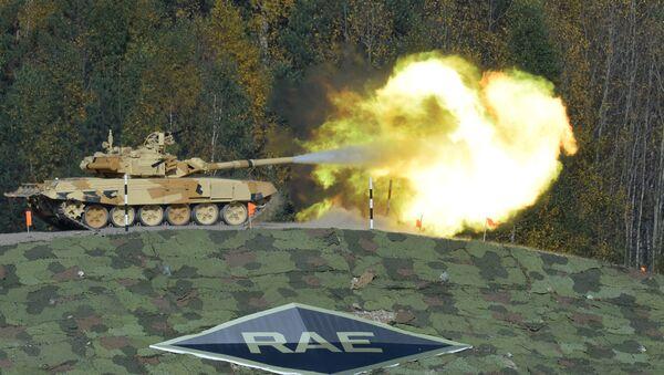 Tank Т-90А na mezinárodní výstavě Russia Аrms Еxpo - Sputnik Česká republika