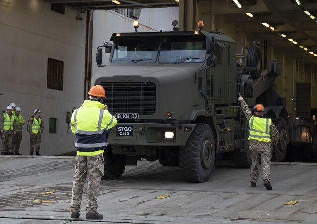 Vojenská cvičení Defender Europe 2020