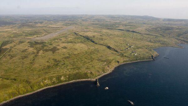 Kurilský ostrov Šumšu - Sputnik Česká republika