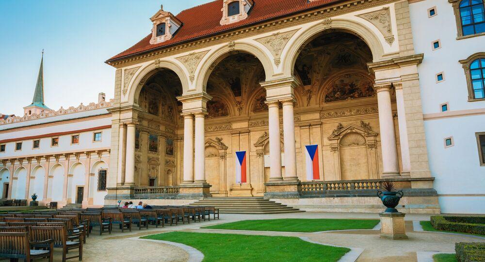Valdštejnský palác, sídlo Senátu Parlamentu ČR