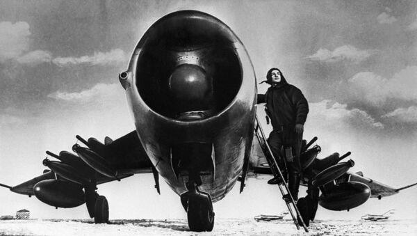 Stíhací letoun MiG-17 - Sputnik Česká republika