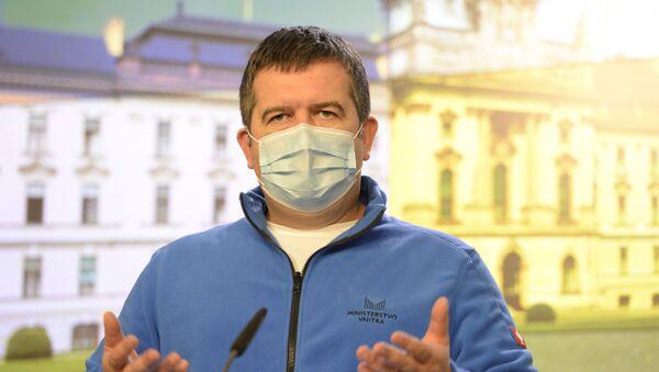 Ministr vnitra Jan Hamáček - Sputnik Česká republika