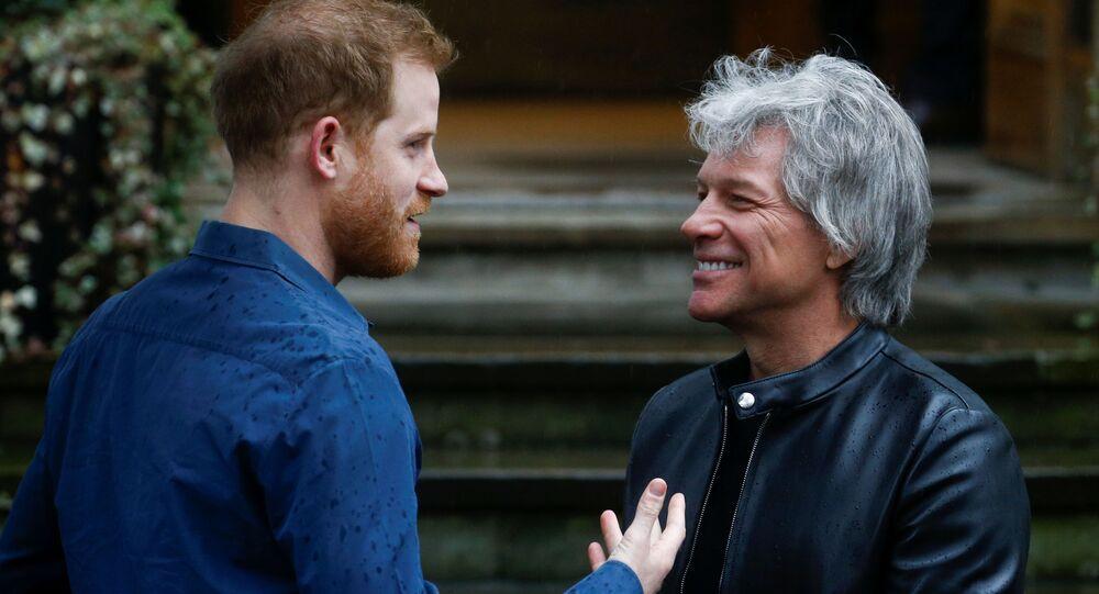 Jon Bon Jovi a princ Harry