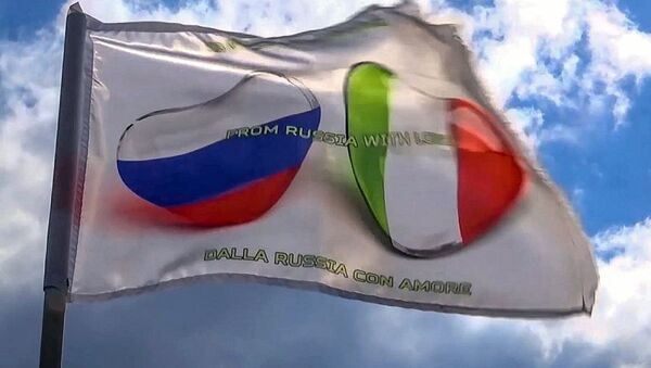 Itálie poděkovala za ruskou pomoc v boji proti covidu-19 - Sputnik Česká republika