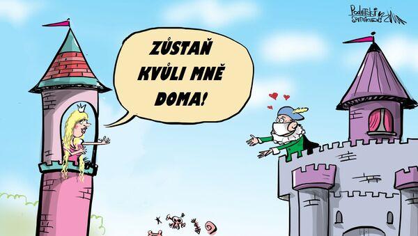 Zůstaň kvůli mně doma - Sputnik Česká republika
