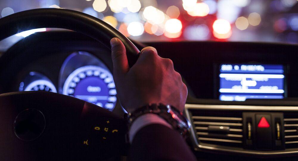 Řídič za volantem