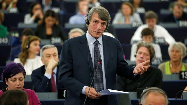 Итальянский политик, депутат Европарламента Давид Сассоли - Sputnik Česká republika