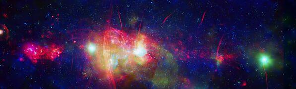 Centrální oblast naší Galaxie Mléčná dráha - Sputnik Česká republika
