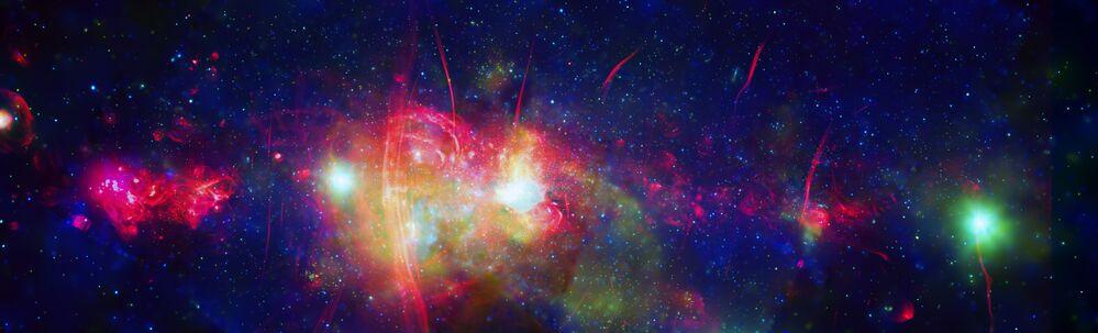 Centrální oblast naší Galaxie Mléčná dráha