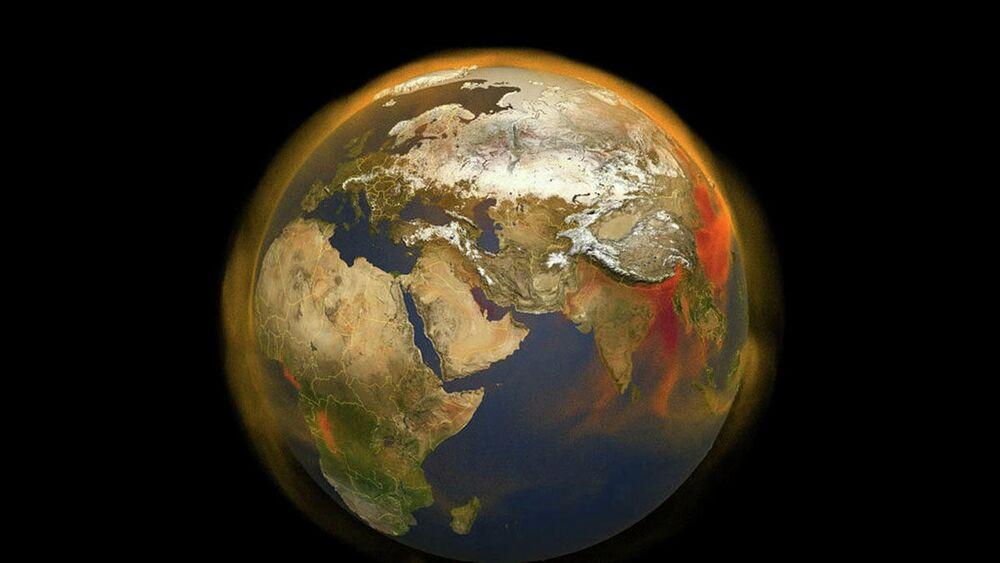 Nová 3D mapa NASA sleduje akumulaci metanu a pohyb v atmosféře