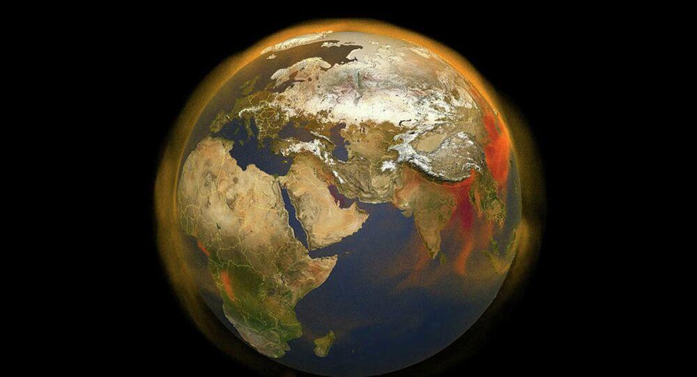 3D mapa NASA