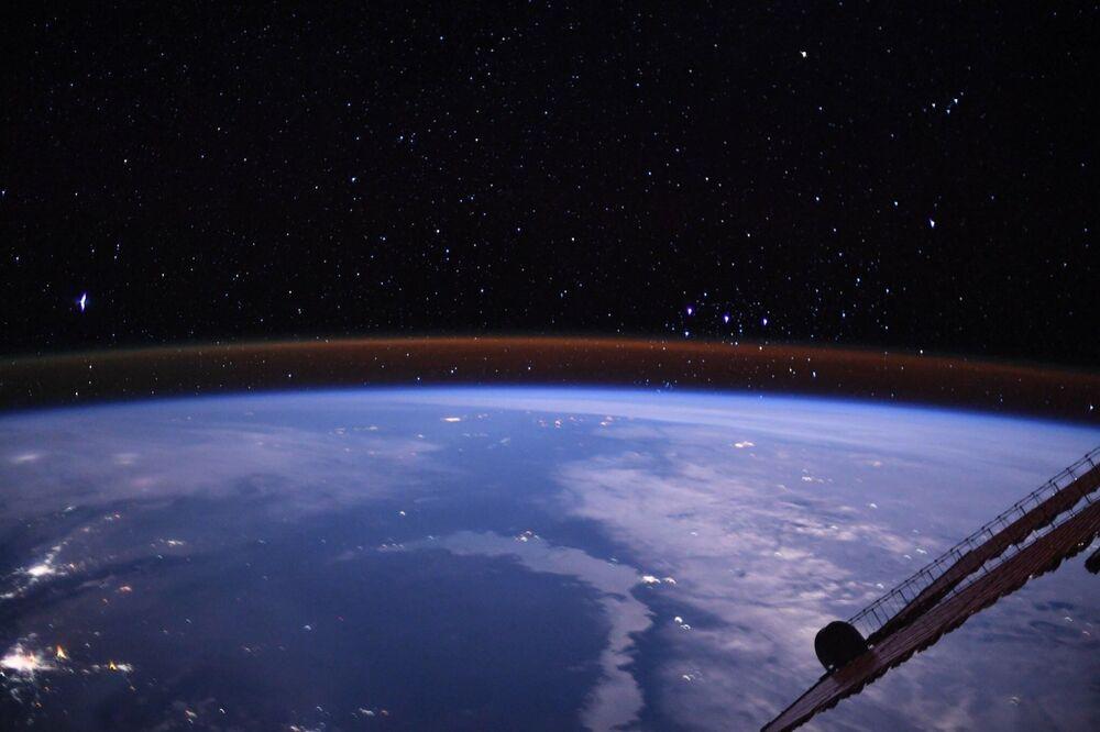 Pohled na Zemi z paluby ISS