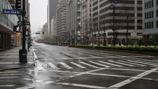 Opuštěná ulice v New Yorku - Sputnik Česká republika