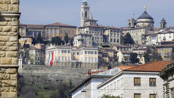 Pohled na Bergamo, Itálie - Sputnik Česká republika