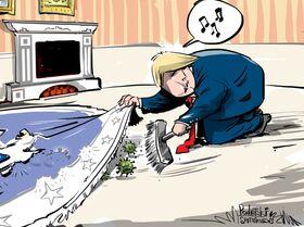 Trump tajil hrozbu koronoviru