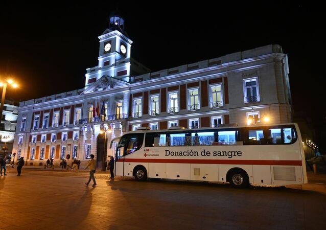 Madrid v době pandemie koronaviru