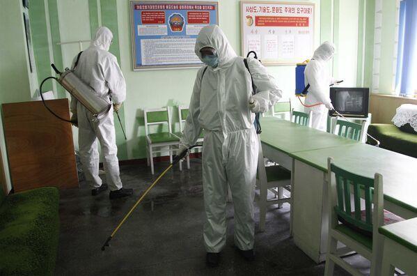 Země, kde není koronavirus. Jak se žije v Severní Koreji během pandemie - Sputnik Česká republika
