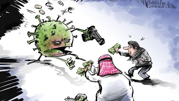 Následkem koronaviru zůstanou miliony Arabů bez obživy - Sputnik Česká republika