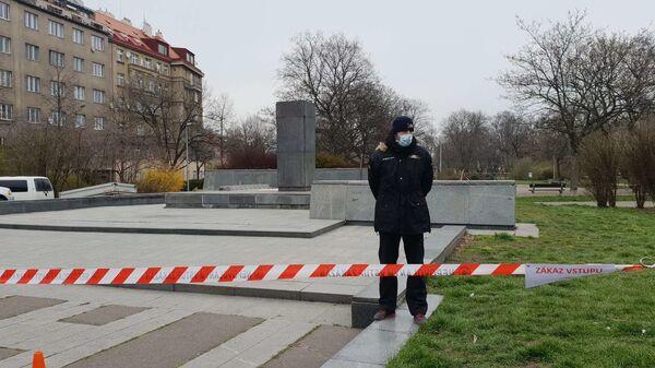 Místo, kde dříve stál pomník Koněva v Praze-6 - Sputnik Česká republika