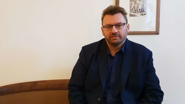 Poslanec Lubomír Volný - Sputnik Česká republika