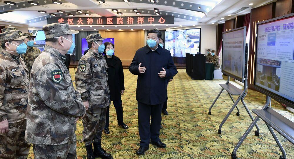 Čínský prezident Si Ťin-pching v nemocnici ve Wu-Chanu