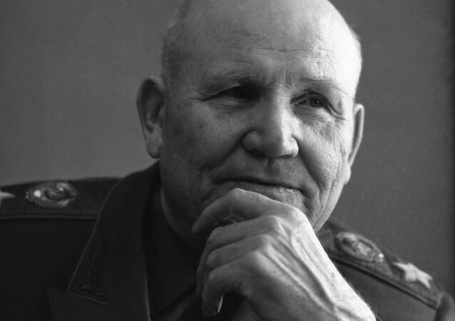 Maršál Sovětského svazu Ivan Stěpanovič Koněv