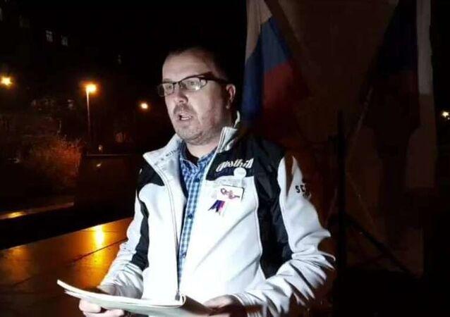 Aktivista Jiří Černohorský