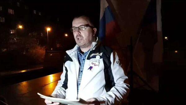 Aktivista Jiří Černohorský - Sputnik Česká republika